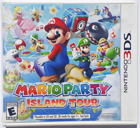 Jogo Mario Party Island Tour Nintendo 3ds Original Frete Gts