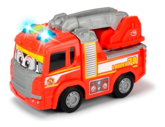 Simba Happy Series - Camión De Bomberos Scania 25 Cm