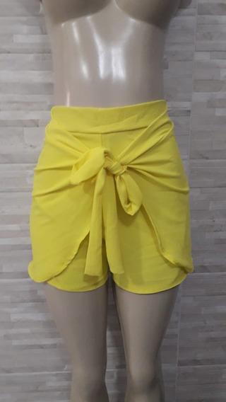 Shorts Pantalona Feminino Curto Promoção