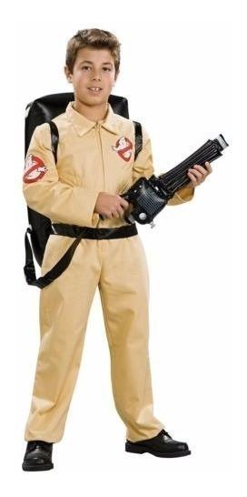 Disfraz Cazafantasmas Para Niño Ghostbusters Con Mochila