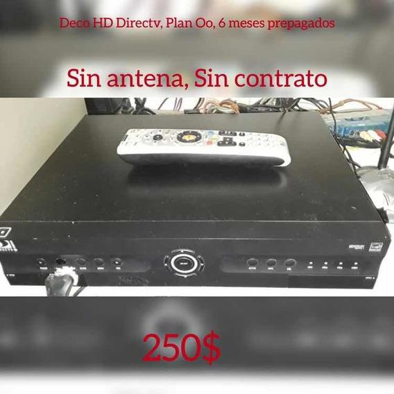 Decodificador Hd Plus Grabador Directv Sin Antena
