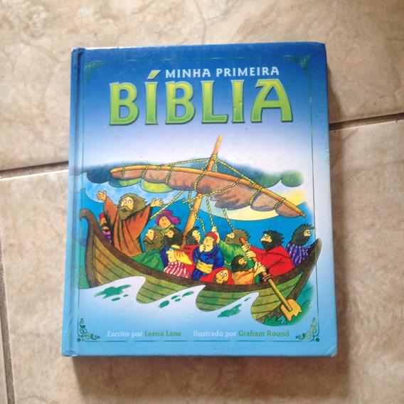 Livro Minha Primeira Bíblia - Leena Lane / Graham Round C2