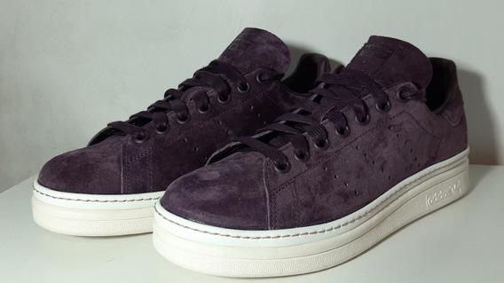 Zapatillas adidas Stan Smith New Bold Mujer Violetas 6.5 Us
