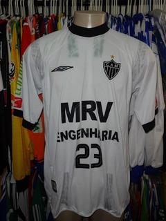 Atlético Mg Branca Mrv Nº 23 Wagner De Jogo
