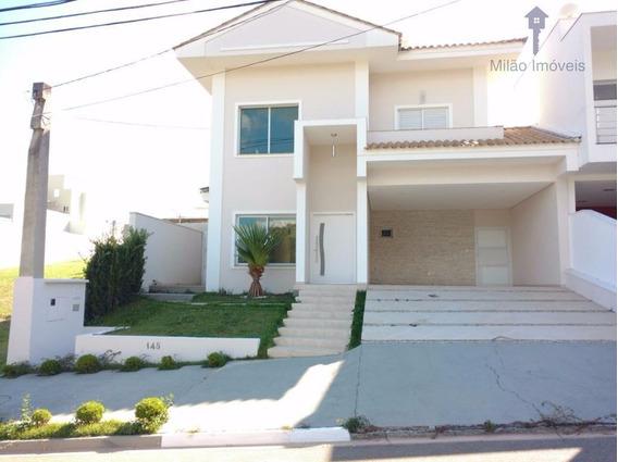 Casa/sobrado 3 Dormitórios Para Locação, 280m², Residencial Aldeia Da Mata Em Votorantim/sp - So0010