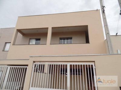Casa Com 2 Dormitórios Para Alugar, 75 M² - Jardim Novo Cambui - Hortolândia/sp - Ca6262
