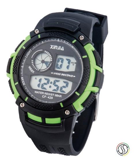 Relógio Xinjia Cf-429 Sport Original