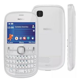 Nokia Asha 201 2g Simples Só Operadora Vivo
