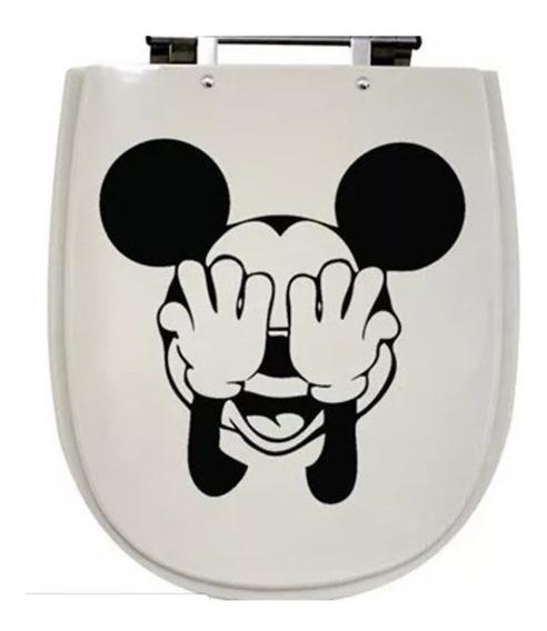 Adesivo Mickey Para Vaso Sanitario Privada Banheiro Mickei