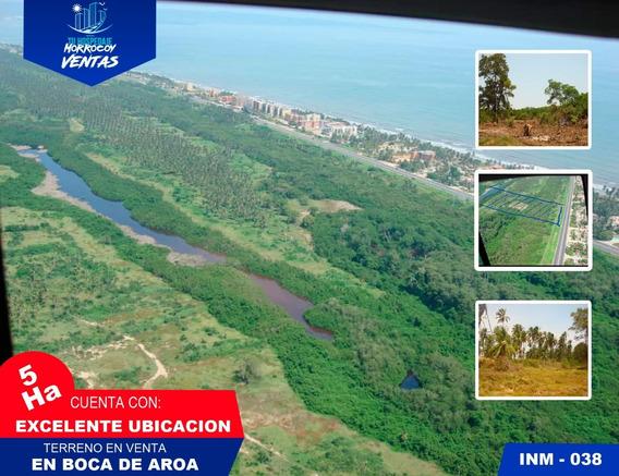 En Venta Terreno En Boca De Aroa Inm-038