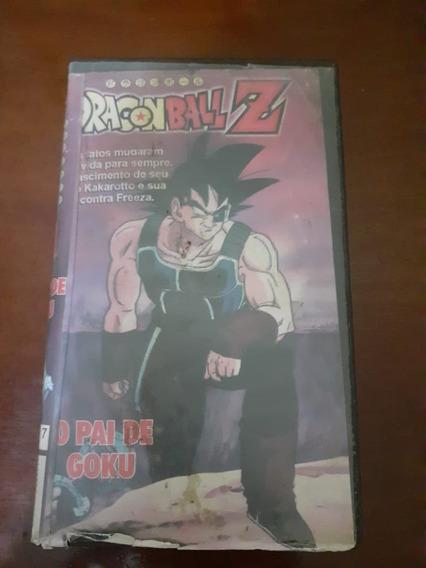 Fita Vhs Dragon Ball : Pai Do Goku
