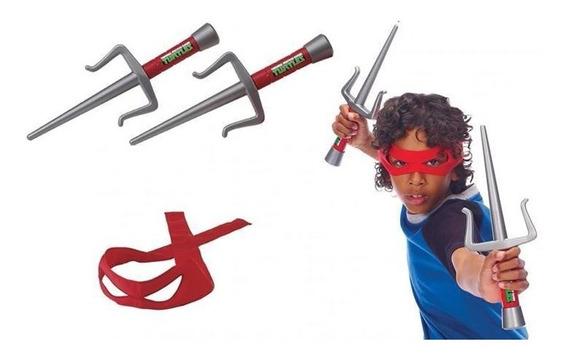 Raphael Equipamento De Combate Tartarugas Ninja Role Play