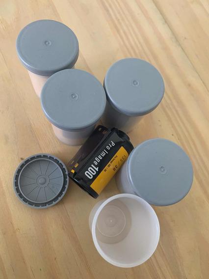 5 Filmes 35mm Kodak Pro Image 100 Color C41 (vencido 9/2015)