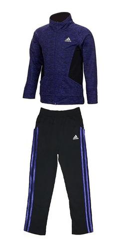 Imagen 1 de 1 de Pants adidas Dos Piezas Niño Chamarra Y Pants Original