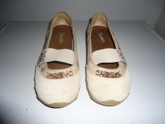Zapatos Casuales De Mujer Skechers Talla 37. (9)