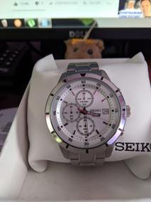 Relógio Seiko Chronografh 4t57 Mpn Sks 557 Aço Inoxidável