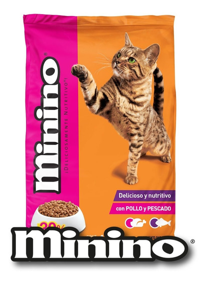 Minino 15kg Alimento Para Gato