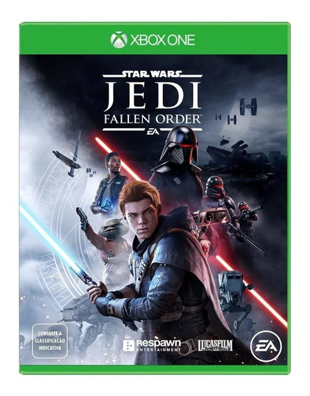 Star Wars: Jedi Fallen Order Xone Mídia Física Novo Br-rj
