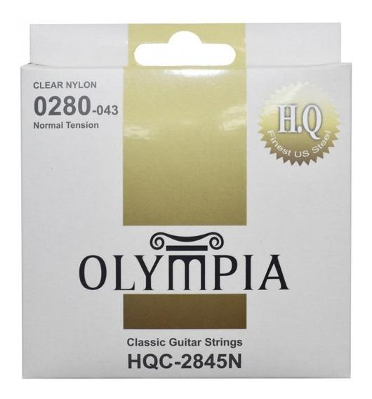 Juego De Cuerdas Guitarra Clasica Olimpia 28-43 Clear Nylon