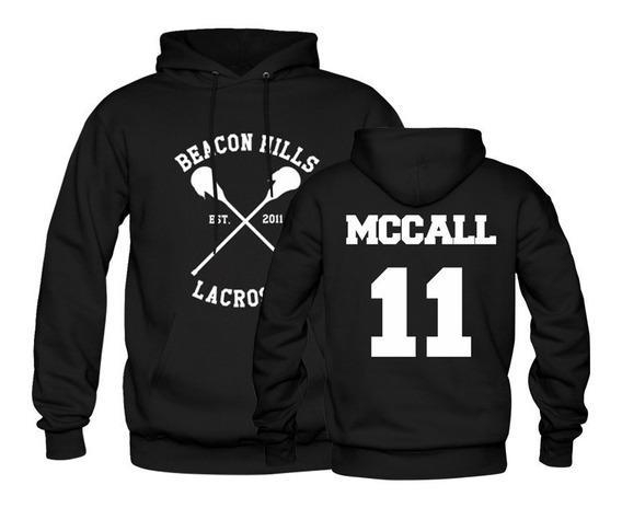 Casaco De Frio Moletom Canguru Teen Wolf Mccall 11 Unisex