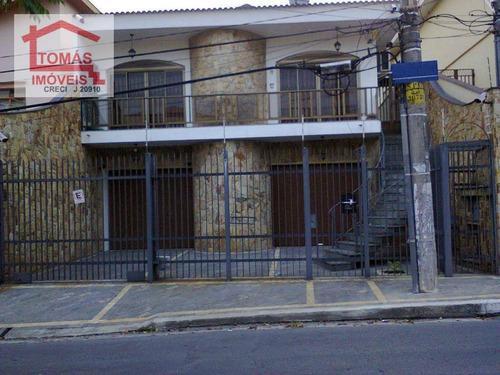 Imagem 1 de 30 de Casa Residencial À Venda, Parque São Domingos, São Paulo - Ca0082. - Ca0082
