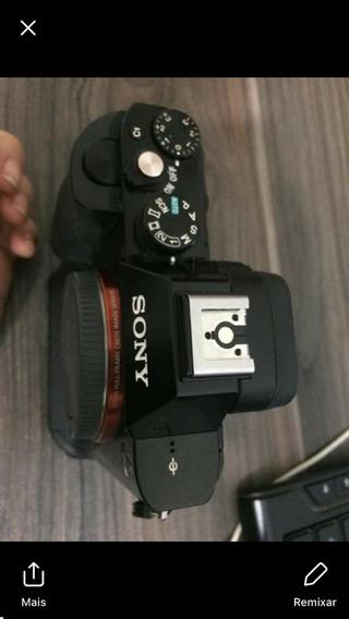 Camera Sony A7s Com Grip Grátis (