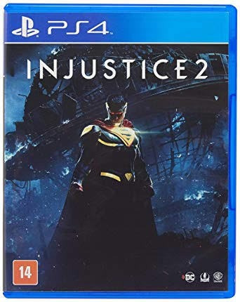 Injustice 2 Ps4 Mídia Física (usado)