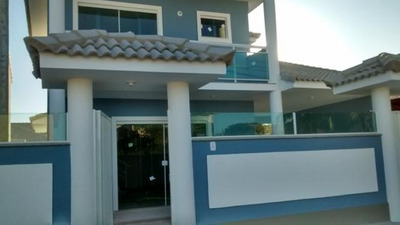 Casa Em Barroco (itaipuaçu), Maricá/rj De 145m² 3 Quartos À Venda Por R$ 450.000,00 - Ca198473