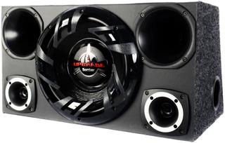 Caixa Trio Som Completa Sub 12 Bomber Upgrade+ 2 Driver 2 Tw