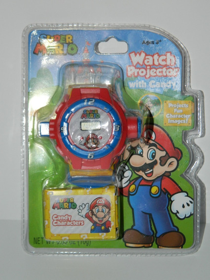 Reloj Projector Watch Projector Super Mario Bros