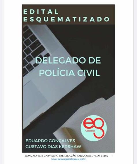 Edital Esquematizado Delegado Civil 2019