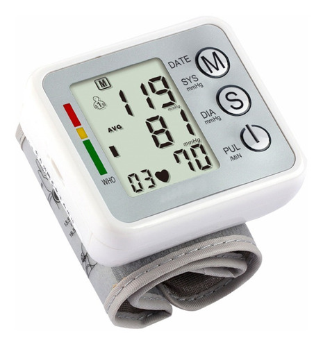Imagem 1 de 3 de Medidor De Pressão Arterial Eletrico C Voz Esfigmomanometro
