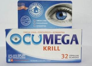 Ocumega Krill Sindrome Del Ojo Seco X 32 Capsuls
