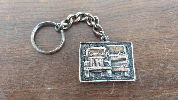Chaveiro Caminhão Scania Lk140 Cara Chata L111 Jacaré Antigo