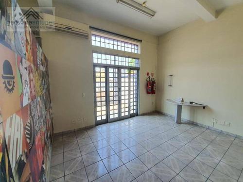 Imagem 1 de 11 de Salão Para Alugar, 112 M² Por R$ 2.700,00/mês - Vila Carvalho - Sorocaba/sp - Sl0008