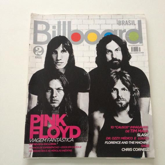 Revista Billboard Brasil 25 Pink Floyda Viagem Fantástica