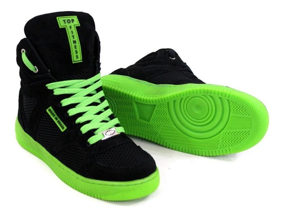 Tênis Sneakers Feminino Botinha Fitness Caminhada Varias Cor