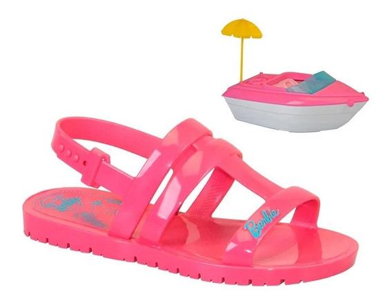 Sandália Infantil Meninas Barbie Iate Barco Colonelli 22002