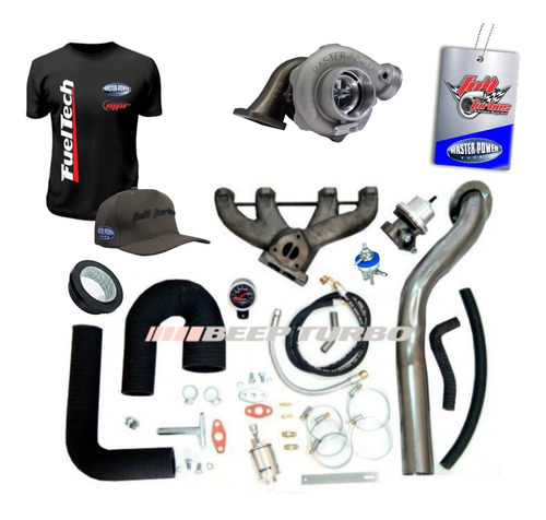 Kit Turbo Vw Ap Farol Mi + Turbina Master Power Apl