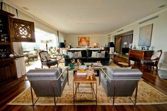 Apartamento Para Locação Ou Venda, Jardim Guedala, 628m², 4 Suítes, 6 Vagas! - Cv412