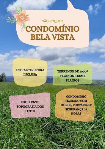 Imagem 1 de 13 de Os Melhores Terrenos De 1000² Localizado Em São Roque