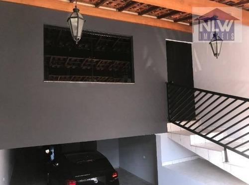 Casa Com 3 Dormitórios À Venda, 200 M² Por R$ 700.000,00 - Parque Novo Oratório - Santo André/sp - Ca0139