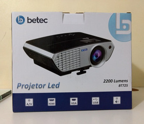 Projetor Led Betec 2200 Lumens Bt 725