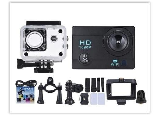 Câmera Action 12mp 1080p Wifi 2 Baterias + Carregador