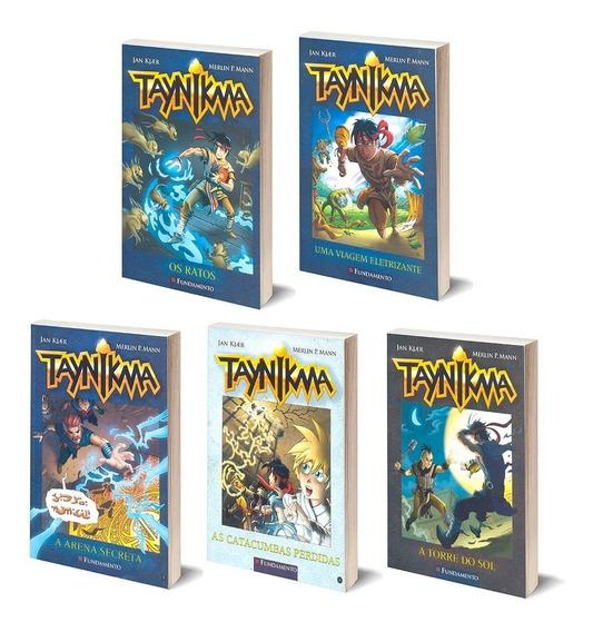 Taynikma Literatura Em Estilo Mangá Coleção Em 5 Volumes