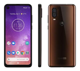 Smartphone Motorola One Vision Xt1970 1 Lacrado