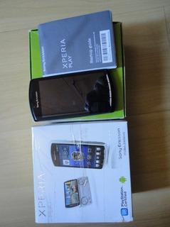 Smartphone Sony Ericsson Xperia Play R8001 Preto Defeito