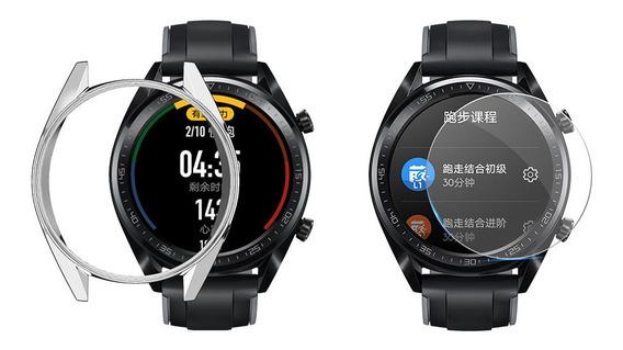 Electroplate - Carcasa Blanda De Tpu Para Huawei Watch Gt 46
