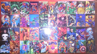 Tarjetas Pepsicards Marvel