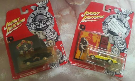 Carros Jhonny Lightning Escala 1:64 Edición Guns And Roses